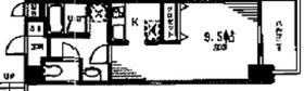 ヴォーンバール日吉3階Fの間取り画像
