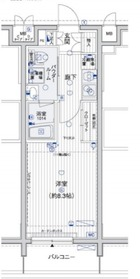 メインステージ横浜5階Fの間取り画像