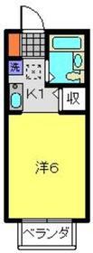元住吉駅 徒歩3分2階Fの間取り画像