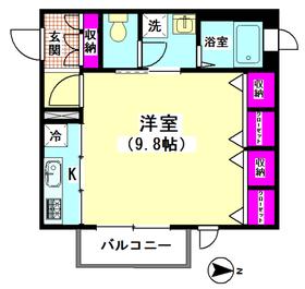 M−Kハウス 201号室