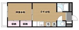 CRANE YOKOHAMA3階Fの間取り画像