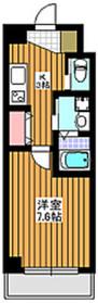 グレースプレミオ8階Fの間取り画像