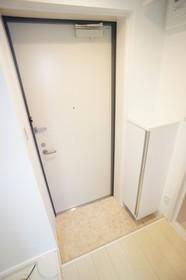 シューズボックス完備の玄関