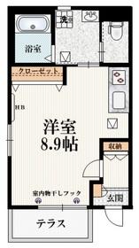 西国分寺駅 徒歩7分1階Fの間取り画像
