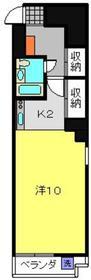 新川崎駅 徒歩18分3階Fの間取り画像