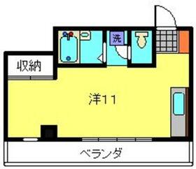 第二斉藤マンション2階Fの間取り画像