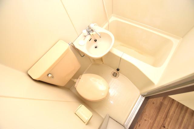 ダイヤコーポ シャワー1本で水回りが簡単に掃除できますね。