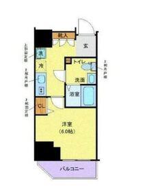 ルフレ プレミアム川崎2階Fの間取り画像
