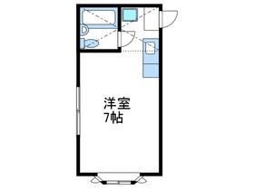 メゾンM&N2階Fの間取り画像