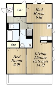 ルーフハウスB1階Fの間取り画像