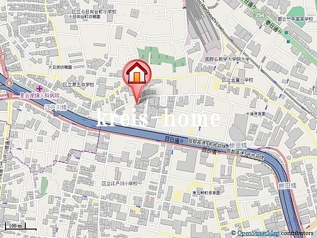 ガリシアグランデ江戸川橋案内図