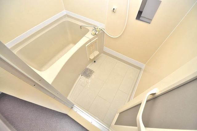 TSUJIHANAビルディング 広めのお風呂は一日の疲れを癒してくれます。