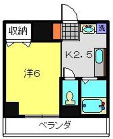 菊名駅 徒歩26分1階Fの間取り画像
