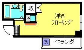 エルミタージュ3階Fの間取り画像