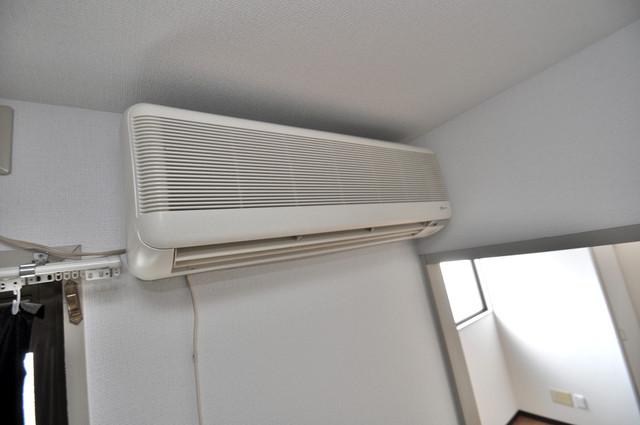 スターハイツ エアコンが最初からついているなんて、本当にうれしい限りです。
