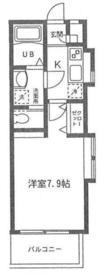 ラピスコート菊名2階Fの間取り画像