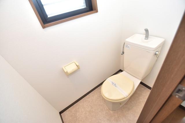 Q's(キューズ) 清潔感たっぷりのトイレです。入るとホッとする、そんな空間。