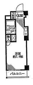 ビッグヴァン二俣川ホームズ2階Fの間取り画像