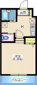 HILLS KOBAYASHI22階Fの間取り画像