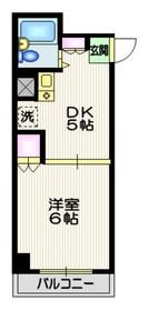 メゾン・ド・フォンティーヌ1階Fの間取り画像