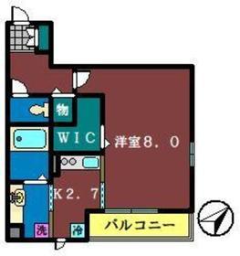 マーベラス3階Fの間取り画像