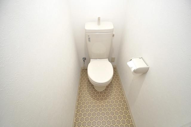 アップウエスト神路 清潔感たっぷりのトイレです。入るとホッとする、そんな空間。