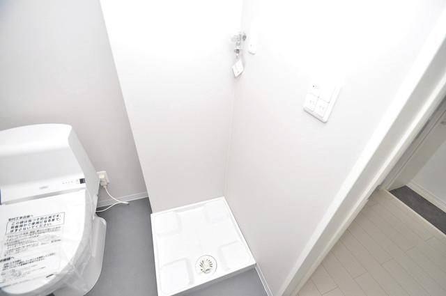 クラリスクオーレ 室内に洗濯機置き場があれば雨の日でも安心ですね。