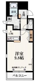 カーサビアンカ3階Fの間取り画像