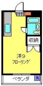 井土ヶ谷駅 徒歩19分3階Fの間取り画像