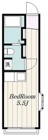 クレドール旭2階Fの間取り画像