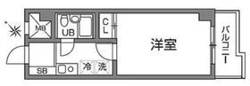 ビエント宮崎台1階Fの間取り画像