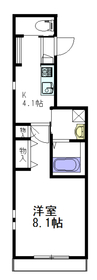 Kei Maison3階Fの間取り画像