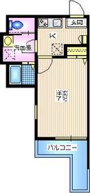 メゾン ラフィネ2階Fの間取り画像