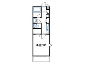 本厚木駅 バス12分「松蓮寺」徒歩3分2階Fの間取り画像