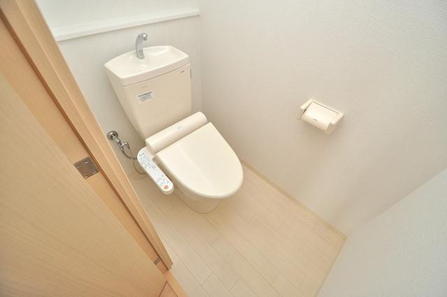 シャラロステ 清潔感たっぷりのトイレです。入るとホッとする、そんな空間。
