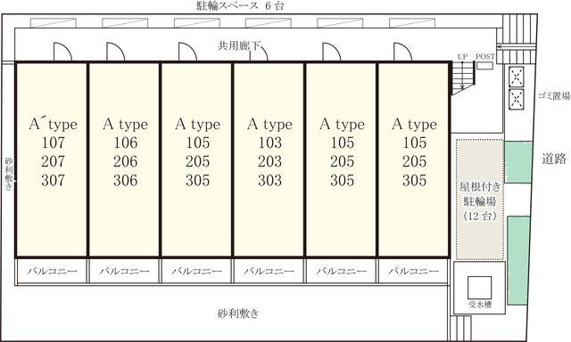 リブリ・蕨塚越配置図