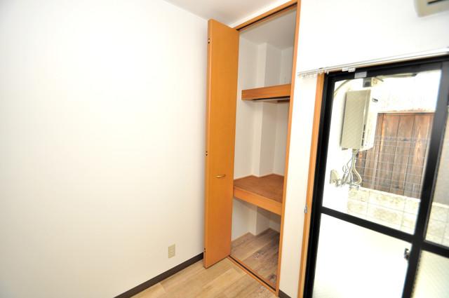グランデコ もちろん収納スペースも確保。いたれりつくせりのお部屋です。