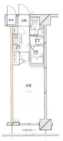 グリフィン新横浜・参番館8階Fの間取り画像