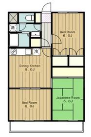 ひかりマンション2階Fの間取り画像