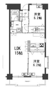 タウンコート湘南1階Fの間取り画像