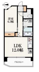 新江古田駅 徒歩8分4階Fの間取り画像