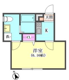 ドミール東矢口 104号室