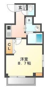 リベル横浜3階Fの間取り画像
