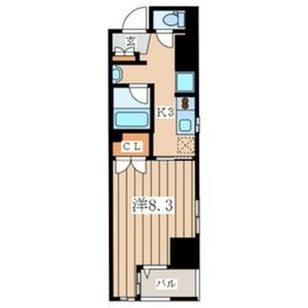 エルドシック横濱4階Fの間取り画像