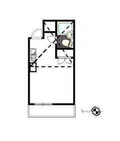 パレス杉田Ⅰ1階Fの間取り画像
