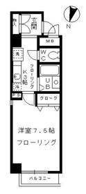 明大前駅 徒歩10分5階Fの間取り画像