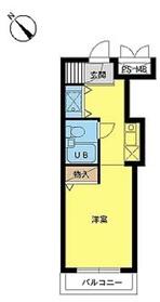 スカイコート喜多見4階Fの間取り画像