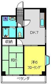 メゾン・ド・ワイアール4階Fの間取り画像
