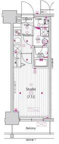 ガーラ横濱関内グランドステージ 5階Fの間取り画像