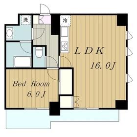 オークウッドⅡ3階Fの間取り画像